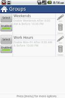 Screenshot of Call Blocker Gold License