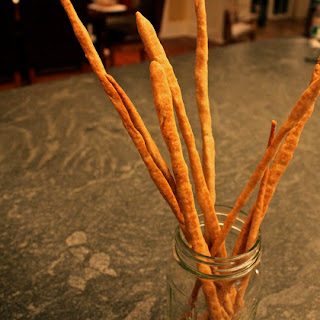 Classy Parmesan Whole Grain Breadsticks