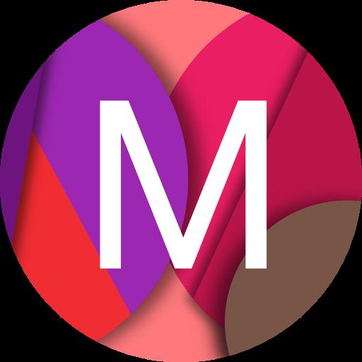 Material Wallpapers(Android L) LOGO-APP點子