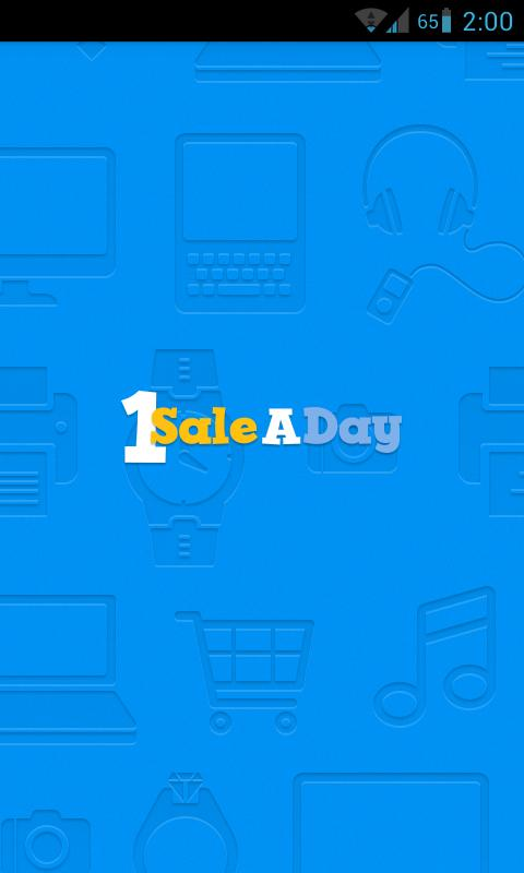 1SaleADay Daily Deals - screenshot