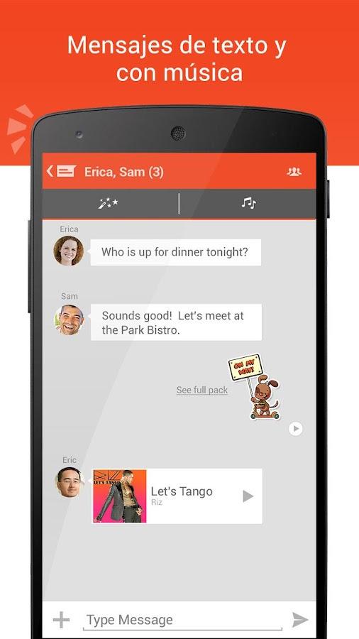 Tango - Vídeo, Voz y Mensajes - screenshot