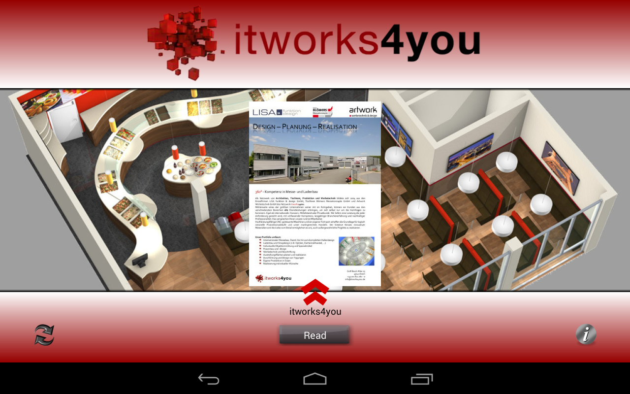 itworks4you Messe-/Ladenbau- screenshot