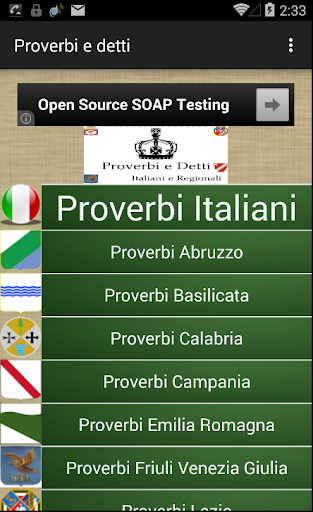Proverbi Italiani e Regionali