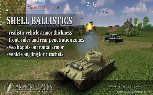 Armored Aces - 3D Tanks Online Mod Money 2.02 APK