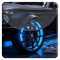 Neon Car HD Live Wallpaper icon