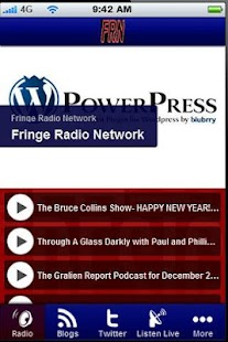 Fringe Radio Network- screenshot thumbnail