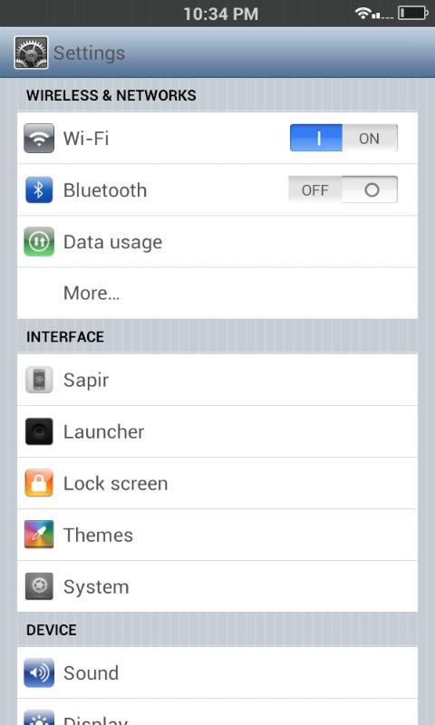 IcePhone CM10/10.1/AOKP THEME. - screenshot