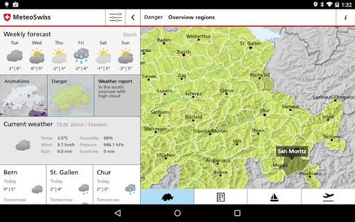 玩免費天氣APP|下載MeteoSwiss app不用錢|硬是要APP