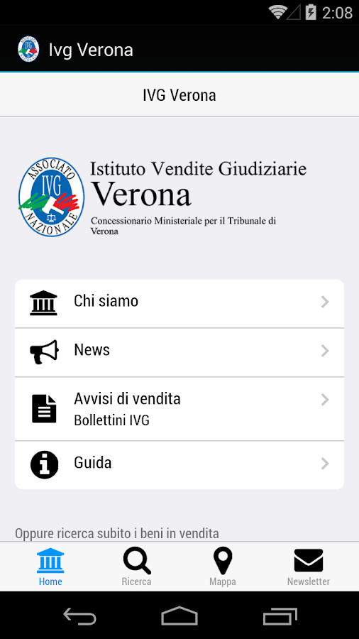 IVG Verona- screenshot