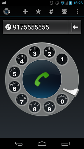 Old School Rotary Dialer
