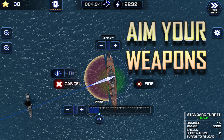 Battle Fleet 2 screenshot #2