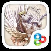 Pegasus GO Launcher Theme