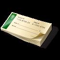 The check please logo