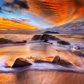 After a beautiful sunset by Dany Fachry - Landscapes Beaches
