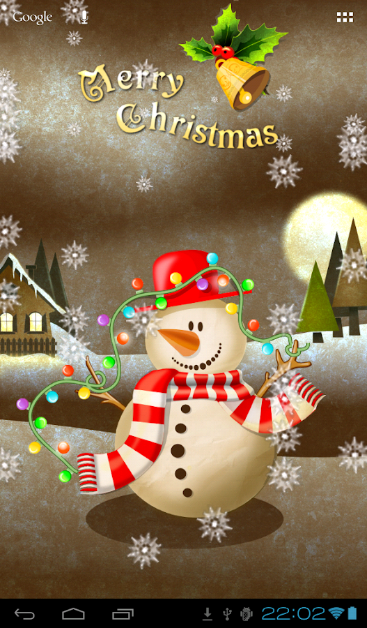 Snowman Wallpaper- screenshot