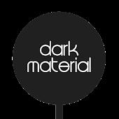 Dark Material - CM12 Theme UI