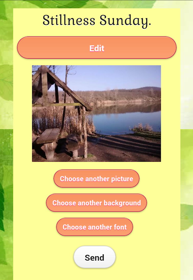 Sunny Picture Messages- screenshot