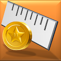 Screen Ruler - Coin Calibrated icon