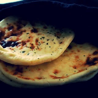 Perfect homemade Naan bread.