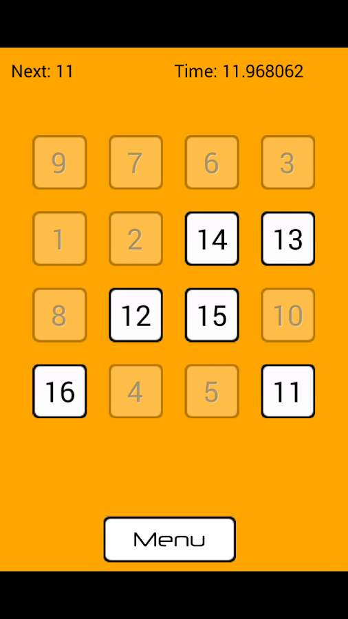 Tap the Number- screenshot