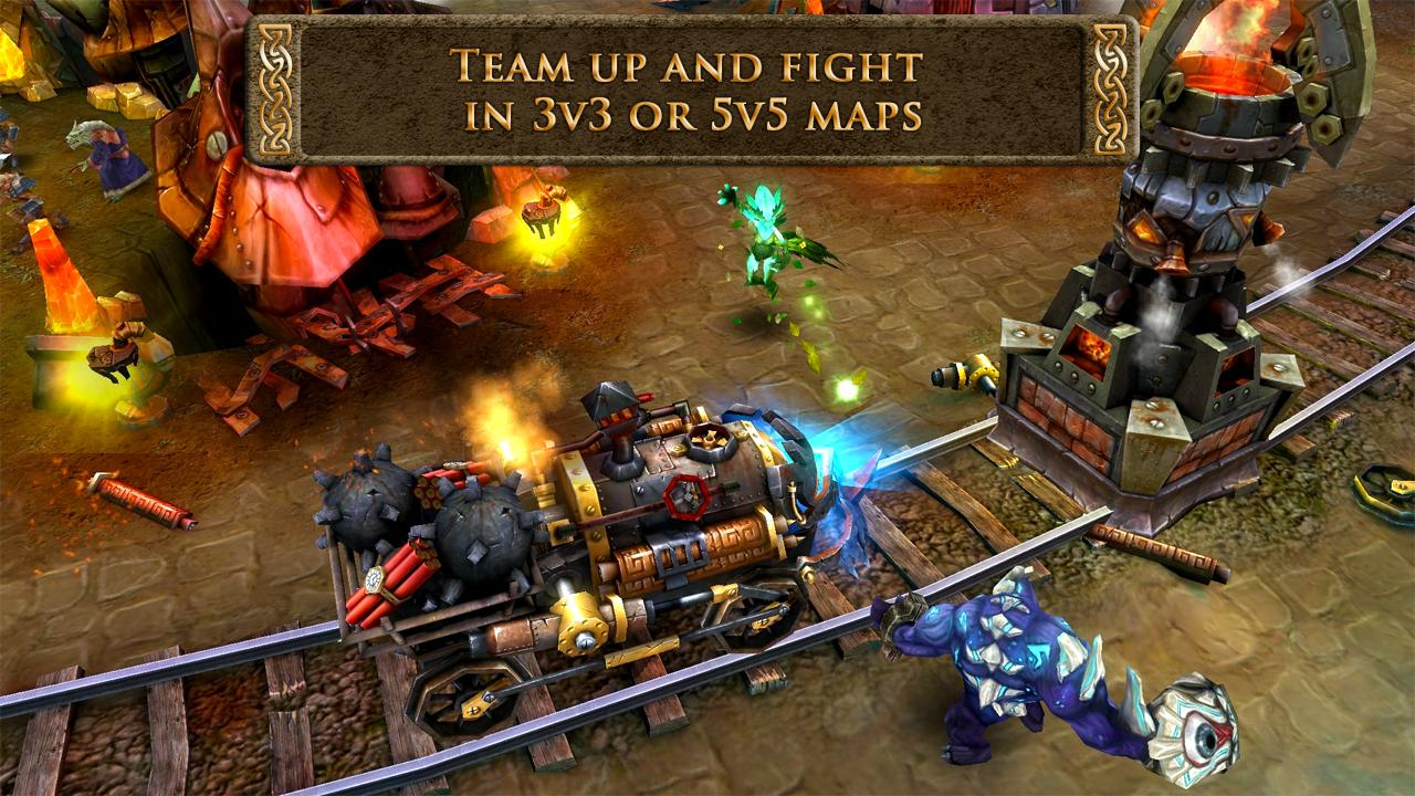 Heroes of Order & Chaos - screenshot