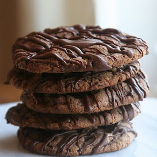 Nutella Chocolate Chip Cookies.
