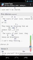 Screenshot of GuitarTapp - Tabs & Chords