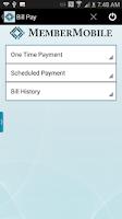 Screenshot of MSCU MemberMobile