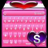 SlideIT Pinky Valentine Skin