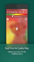 Screenshot of BreezoMeter Air Quality Index