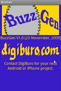 BuzzGen - screenshot thumbnail