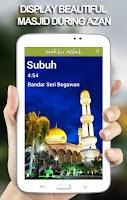 Screenshot of Waktu Solat Brunei