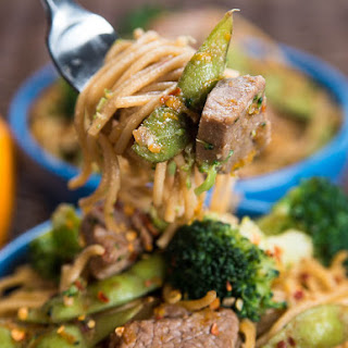 Beef Shanghai Noodles