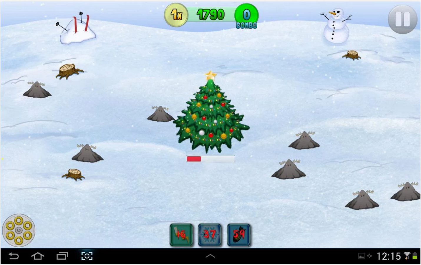 Christmas Reindeer Battle FREE- screenshot