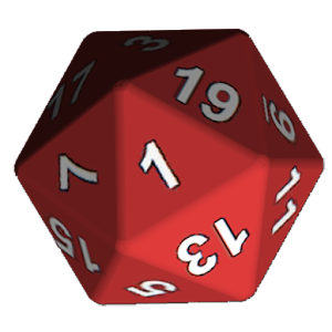 Simple d20 Die for PC and MAC
