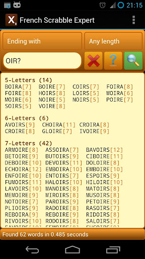French Scrabble Expert 2.8 screenshots 3