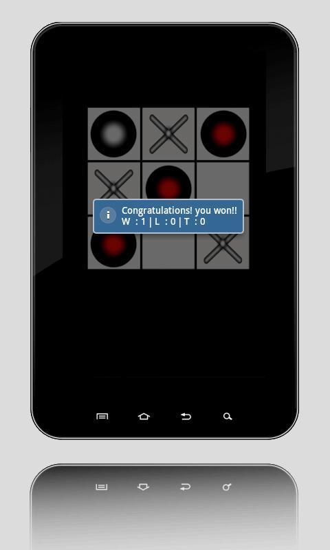 T3 - Tic Tac Toe via bluetooth- screenshot