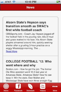 Mississippi State Football- screenshot thumbnail
