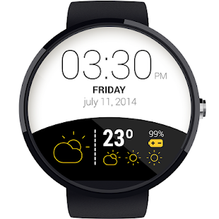 Weather Watch Face Screenshot 12