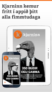 Kjarninn- screenshot thumbnail