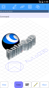 AutoQ3D CAD- screenshot thumbnail