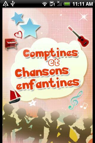 Comptines, Chansons enfantines- screenshot