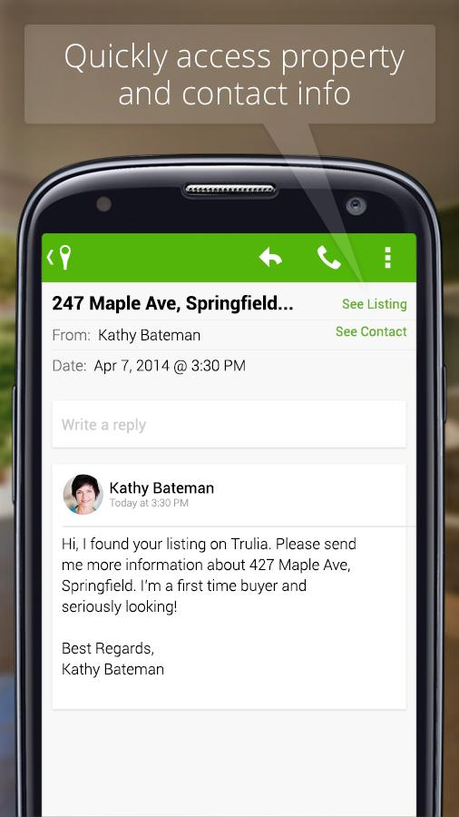 Trulia for Agents - screenshot