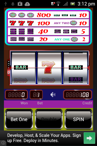 Triple Diamond Slot Machine- screenshot