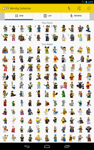 Minifig Collector for LEGO® - screenshot thumbnail
