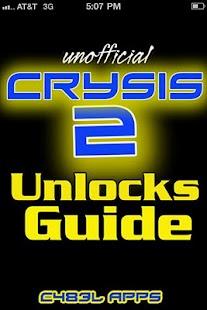 Crysis 2 Unlocks Guide