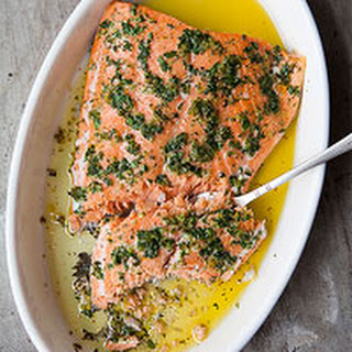 Foolproof Salmon Baked with Olive Oil and Herbs