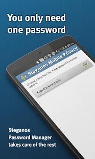 Steganos Mobile Privacy