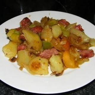 Polish Meat and Potatoes.
