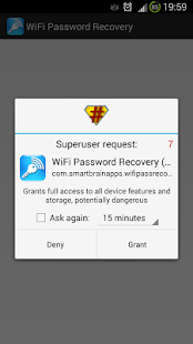Wifi Password Recovery (ROOT) Screenshot